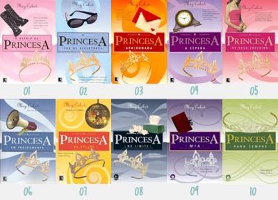 O diário da princesa - capas